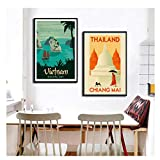 feitao Plakate und Drucke World Tourism Travel City Bangkok