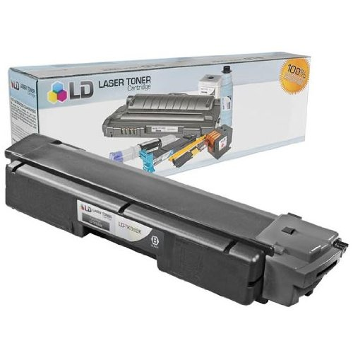 LD Compatible Toner Cartridge Replacement for Kyocera TK-592K (Black)