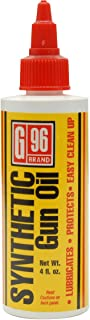 G96 Products Synthetic CLP Gun Oil, 4-Ounce