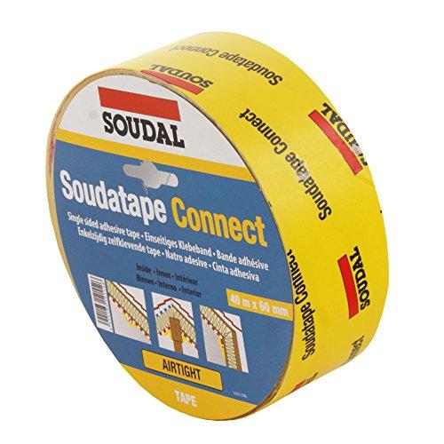 Soudal Soudatape Connect Papier-Klebeband für Dampfbremsen und Sperren (40 lfm)