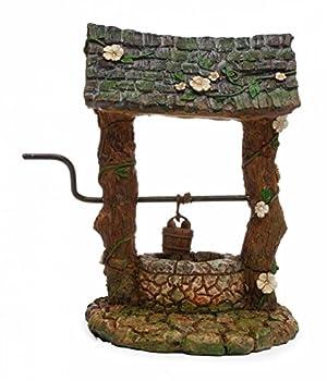 YOTE Miniature Wishing Well MG160 Dollhouse Miniature Fairy Gnome Garden
