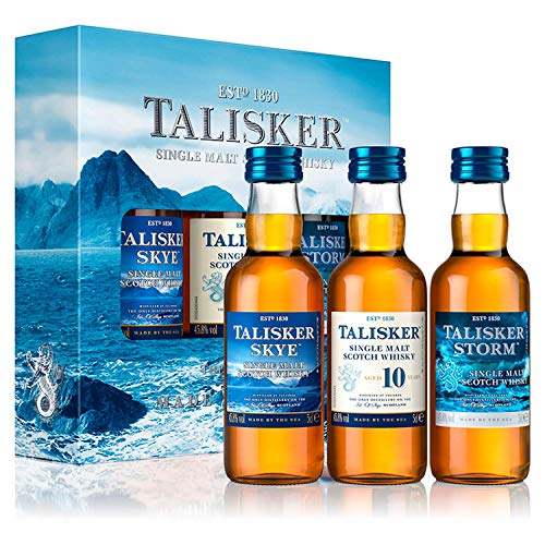 Talisker - Made By The Sea Miniature Gift Set - Whisky - 3 x 0.05 l