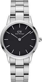 Daniel Wellington Japanese Quartz Watch with Stainless Steel Strap, Silver, 16 (Model: DW00100206)