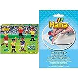 Hama 3139 Tube bead Multicolor 4000 pieza(s) - Abalorios (Tube bead, Multicolor, 4000 pieza(s), Caja) + Beads - Papel de planchado 3 hojas