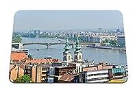26cmx21cm マウスパッド (ハンガリーの都市住宅スカイブリッジ) パターンカスタムの マウスパッド