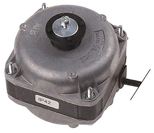 ELCO VN10-20 - Motor de ventilador para Electrolux ALN240, ALN220, 728481, 110769, 728429 (cable de 230 V, 1,85 m, 3 opciones de fijación, 10/38 W)