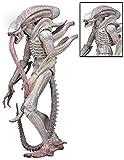 NECA Aliens 7' Scale Series 9 Xenomorph ALBINO Drone Action Figure