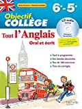 Objectif Collège - Tout l'Anglais 6e-5e...
