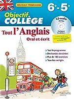 Objectif Collège - Tout l'Anglais 6e-5e - Nouveau programme 2016 de Daniel GUIMBERTEAU