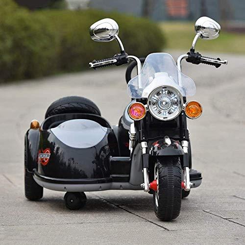 Showkig Los hombres y las mujeres de la motocicleta bebé pueda sentarse...