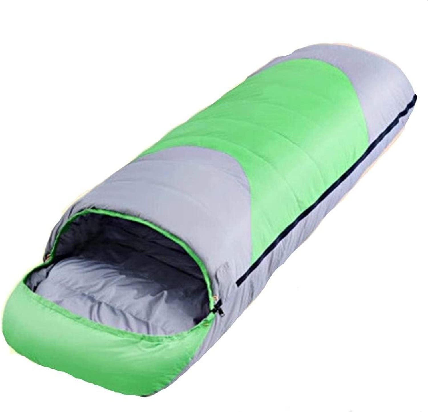 Unisex Outdoor Bag Camping Equipment Adult Sleeping Bag Windproof Warmth Practical Portable Leisure Soft Comfortable Lightweight Hiking Camping Sleeping Bag
