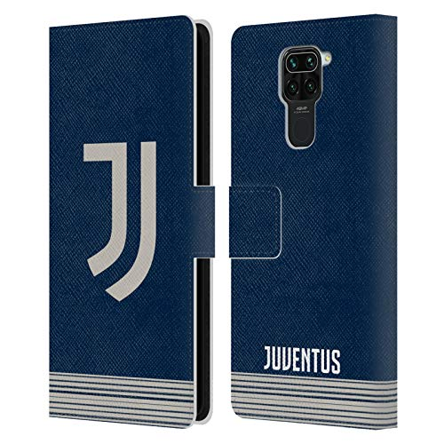 Head Case Designs Offiziell Zugelassen Juventus Football Club Away 2020/21 Match Kit Leder Brieftaschen Handyhülle Hülle Huelle kompatibel mit Redmi Note 9 / Redmi 10X 4G