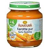 Alnatura Demeter Bio Karotte pur Rodelika, glutenfrei, 6er Pack (6 x 125 g) -