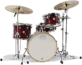 DW Design Series Frequent Flyer 4-Pc Shell Pack - Cherry Stain