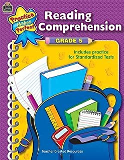 [(Reading Comprehension Grade 5)] [Author: Tcm Editorial] published on (February, 2003)