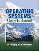 By Dhananjay Dhamdhere Operating Systems (1st Frist Edition) [Hardcover]