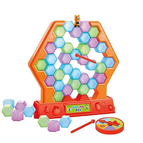 N / B Guardar pingüino en el Juego de Hielo, Juegos de Mesa de Rompecabezas, Juegos de Mesa de Familia Divertidos Juguetes de Preescolar Juguetes para niños.
