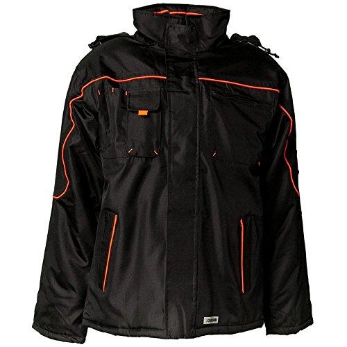 Größe XS Herren Planam Outdoor Winter Piper Jacke schwarz orange Modell 3535