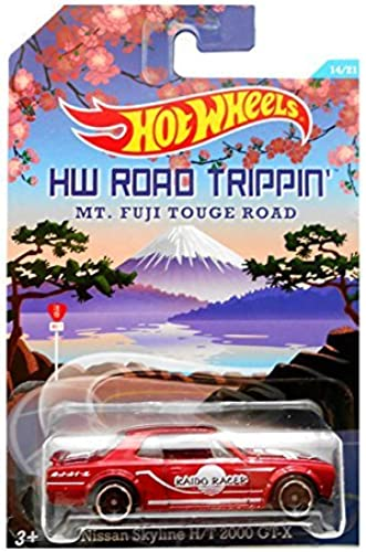 Hot Wtalons Road Trippin' Series - MT. Fuji Touge Road - Nissan Skyline H T 2000 GT-X - 7 of 21 (Metallic rouge Col) by Hot Wtalons