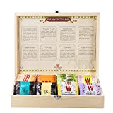 Wissotzky Tea Magic Tea Chest, Assorted Tea Gift Box Collection w/ 80...