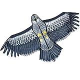 鳥追いカイト鷹凧揚げ カイト鳥よけカイト 紙鳶 鳥駆除 軽量組み立てが簡単ガーデンヤードファームの鳥凧 (防獣・鳥・虫用品)
