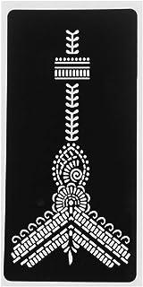 Qqinghan Mode Henna Tattoo Stencil Tijdelijke Hand Tatoeages DIY Lichaamskunst Verf Sticker Sjabloon Indian Wedding Painti...
