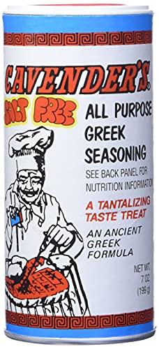 Cavender s Greek Seasoning, Salt Free, 7 Ounce