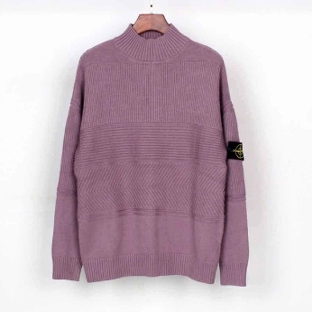 ZYING Fashion New Turtleneck Pullover Knit Sweater Beautiful and Stylish Easy to Use (Color : L Code)