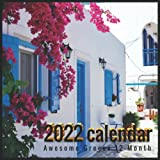 2022 Greece Calendar: Awesome 12-Month Calendar from January 2022 to December 2022, Greece Gifts For Greece lovers.