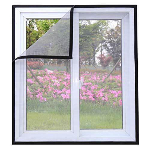 ALSGON insectenwerende ramen, magnetisch scherm, raam in elkaar grijpen, scherm, bescherming tegen muggen, doorzichtig glasvezelweefsel, 100 x 100 cm (39 x 39 inch)