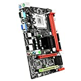 kkkl Placa Base de computadora G31 M-ATX SATA 2.0 Interfaz IDE Soporte Procesador LGA775 5.1 Canales VGA COM Interfaz USB 2.0