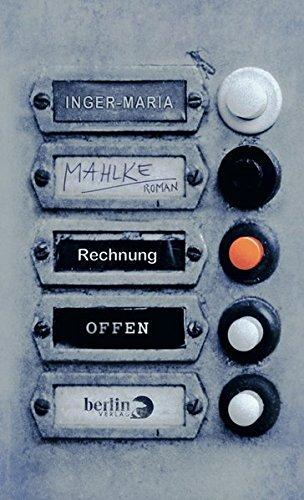 Buchseite und Rezensionen zu 'Rechnung offen' von Inger-Maria Mahlke
