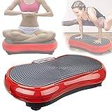 HNWTKJ Plataformas Vibratorias de Fitness, Placa Vibratoria, Maquina de Adelgazar, Estimula la Circulación Sanguínea, Fortalece Los Músculos y Reduce la Celulitis