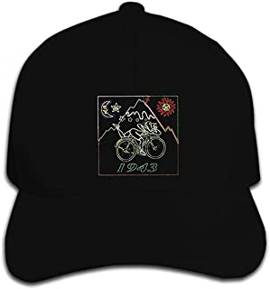 印刷カスタム野球キャップヒップホップ自転車日 BIKEer 旅行 LSD 酸 DR アルバートホフマン酸パーティー DTG1 帽子をピークにキャップ