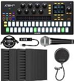 PreSonus ATOM SQ Hybrid MIDI Keyboard/Pad Performance & Production Controller Bundle with Blucoil 4x...