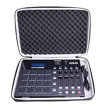LTGEM Hard Case for Akai Professional MPD226 | 16-Pad USB/MIDI Pad Controller