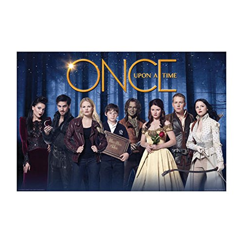 Once Upon A Time - Cast Poster Drucken (60,96 x 91,44 cm)