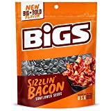 BIGS Sizzlin' Bacon Sunflower Seeds, 5.35-oz. Bag (Pack of 12)