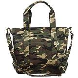 (カジュアルボックス)CasualBox OSAKA キャンバストートバッグ 6色 メンズ レディース かばん BAG エコバッグ 通勤 通学 ショルダーバッグ Charm チャーム (カモ)