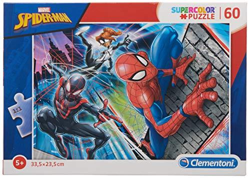 Clementoni- Marvel Spider-Man Puzzle, 60 Piezas, Multicolor (26048.5)