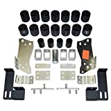Performance Accessories, Chevy/GMC Silverado/Sierra 1500/2500 Gas 2WD and 4WD Std/Ext/Crew Cab (Non-HD) 3' Body Lift Kit, fits 1999 to 2002, PA10053, Made in America