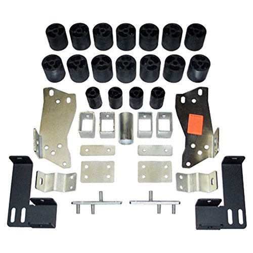 "Performance Accessories, Chevy/GMC Silverado/Sierra 1500/2500 Gas 2WD and 4WD Std/Ext/Crew Cab (Non-HD) 3"" Body Lift Kit, fits 1999 to 2002, PA10053, Made in America"