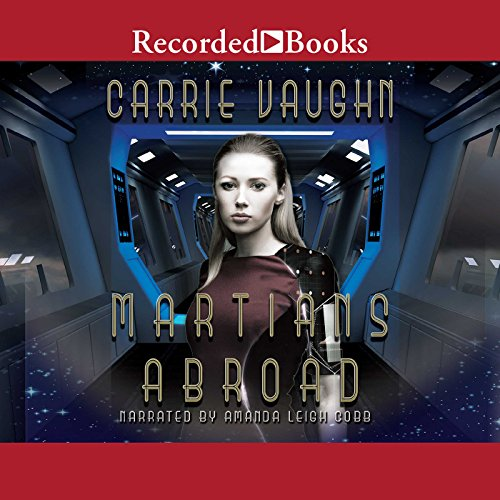 Martians Abroad audiobook cover art