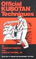Official Kubotan Techniques 0923401016 Book Cover