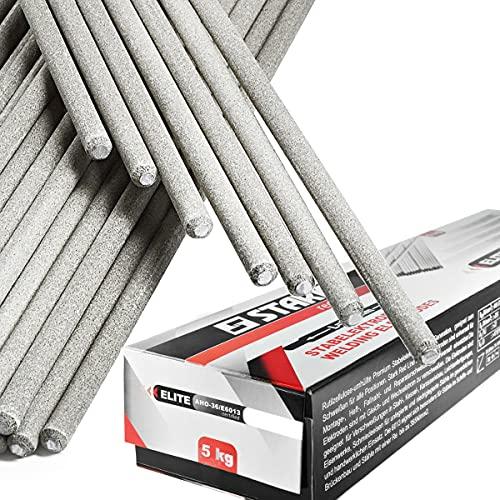 STARK Electrodos de Soldadura - Rutilo Acero Profesional 3 x 350 mm - ca.185 Pzas 5Kg