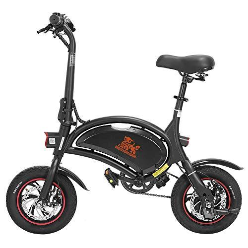 Bicis Eléctricas Plegable, Bicicletas con Motor de 250W hasta 25 Km/h, Bateria...