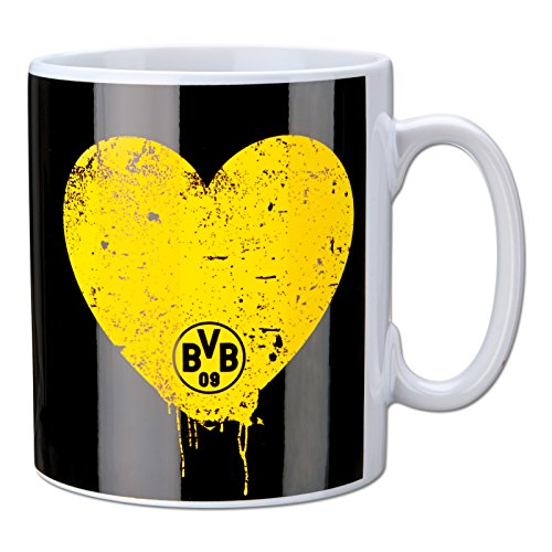 Borussia Dortmund Bester Papa Tasse / Kaffeetasse / Kaffeepott / Mug BVB 09 by Borussia Dortmund 09