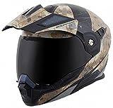 ScorpionExo EXO-At950 Unisex-Adult Flip-Up-Style Battleflage Helmet (Sand, X-Small)