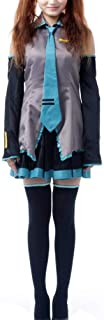 Ilovcomic Women's Vocaloid Cosplay Hatsune Miku 1st Costume Outfit