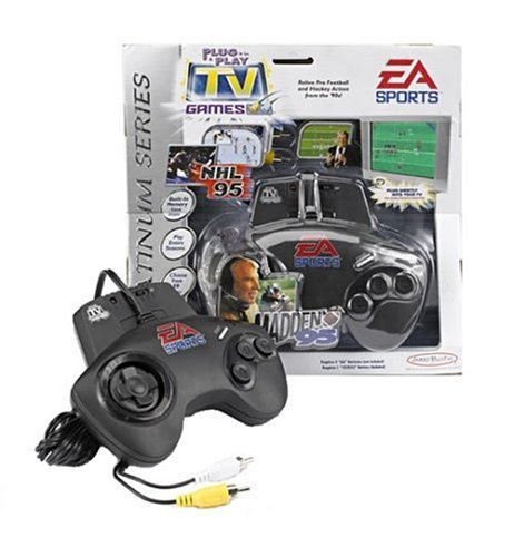 EA Sports Controller with Two TV Games